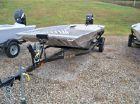 2016 ALWELD 1652 Sport Jon W/ Jet 40 hp & Remote Steer