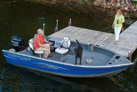 2013 Crestliner 1650 Pro Tiller