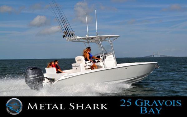 2015 Metal Shark 25 Gravois