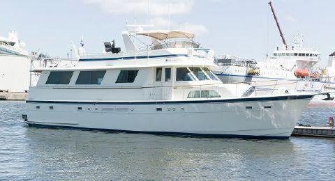1987 Hatteras 63 Motoryacht Profile