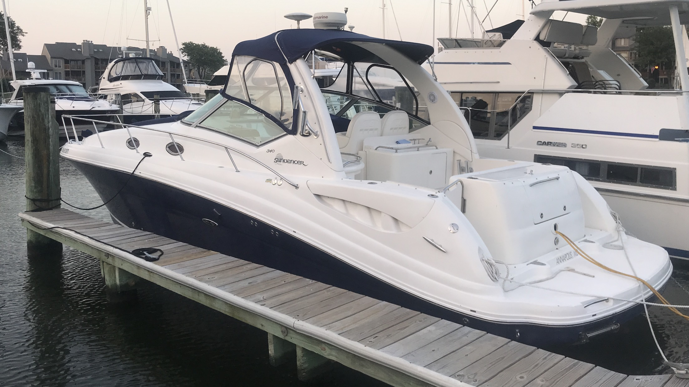 2005 Sea Ray 340 Sportsman Edition
