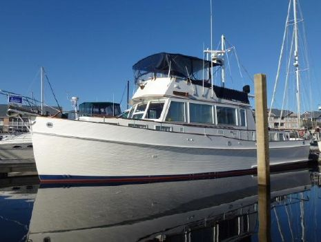 1983 Grand Banks 49 Classic Port Side View