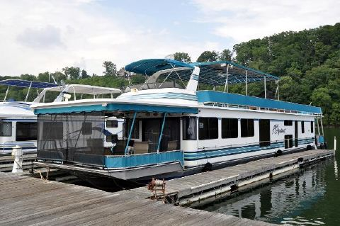 1997 STARDUST 16' x 82' HOUSE BOAT