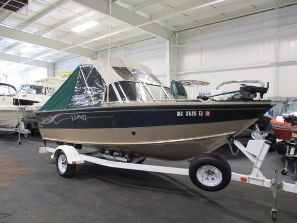 Lund new and used boats for sale in michigan for Used lund fishing boats for sale
