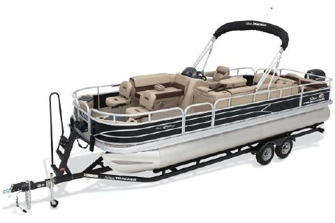 2018 Sun Tracker Fishin' Barge 24 DLX