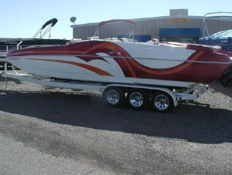 2007 Magic 28 Deckboat