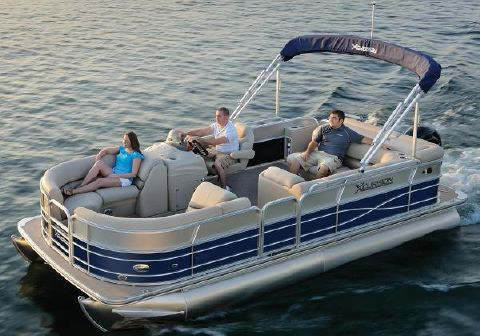 2016 X-cursion pontoon 21C Manufacturer Provided Image: Manufacturer Provided Image