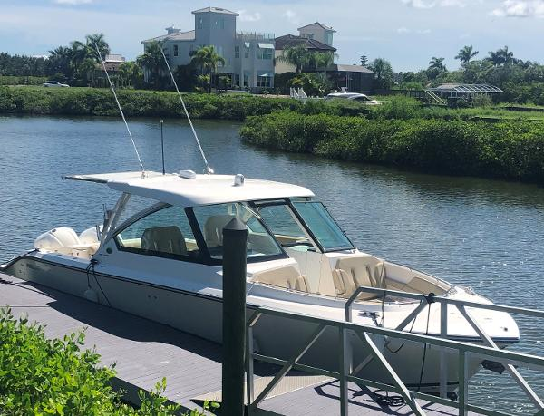 Check out this 2017 Pursuit DC 325 Dual Console on Boattrader com
