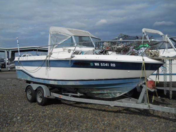 1991 Seaswirl 210 Striper
