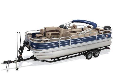 2018 Sun Tracker Fishin' Barge 22 DLX