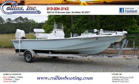 2007 Frontier Boats 210