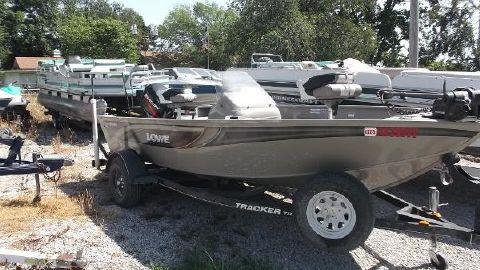 2006 Lowe Fishing Machine 165