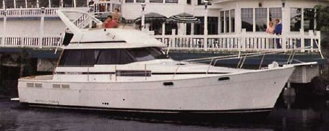 1989 Bayliner 3888 Motoryacht SISTER SHIP PROFILE
