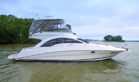2008 Sea Ray 47 Sedan Bridge STBD Profile