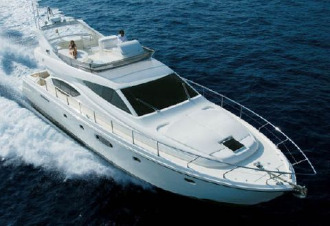 2006 Ferretti Yachts 550 Flybridge Photo 1