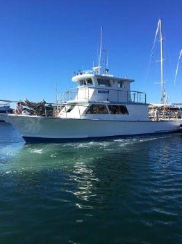 1986 Harker's Island Rhodes Craft Seeker - back at sea