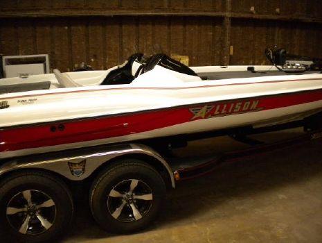 2014 Allison Boats Xb-21 Bassport Pro