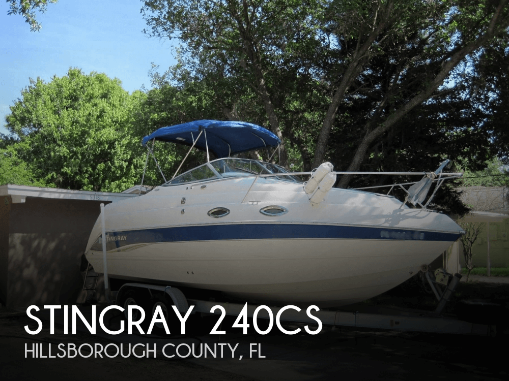 2007 Stingray 240cs 24 Foot 2007 Stingray Motor Boat In