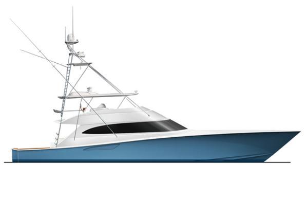 2015 Viking 92 Convertible