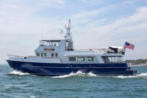 1992 Palmer Johnson Expedition Yacht ASHA