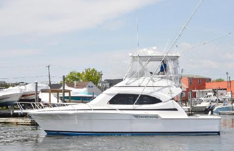 2005 Bertram 390 Convertible Port Side