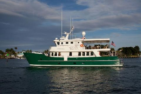 2003 Cape Horn 81 Expedition Yacht