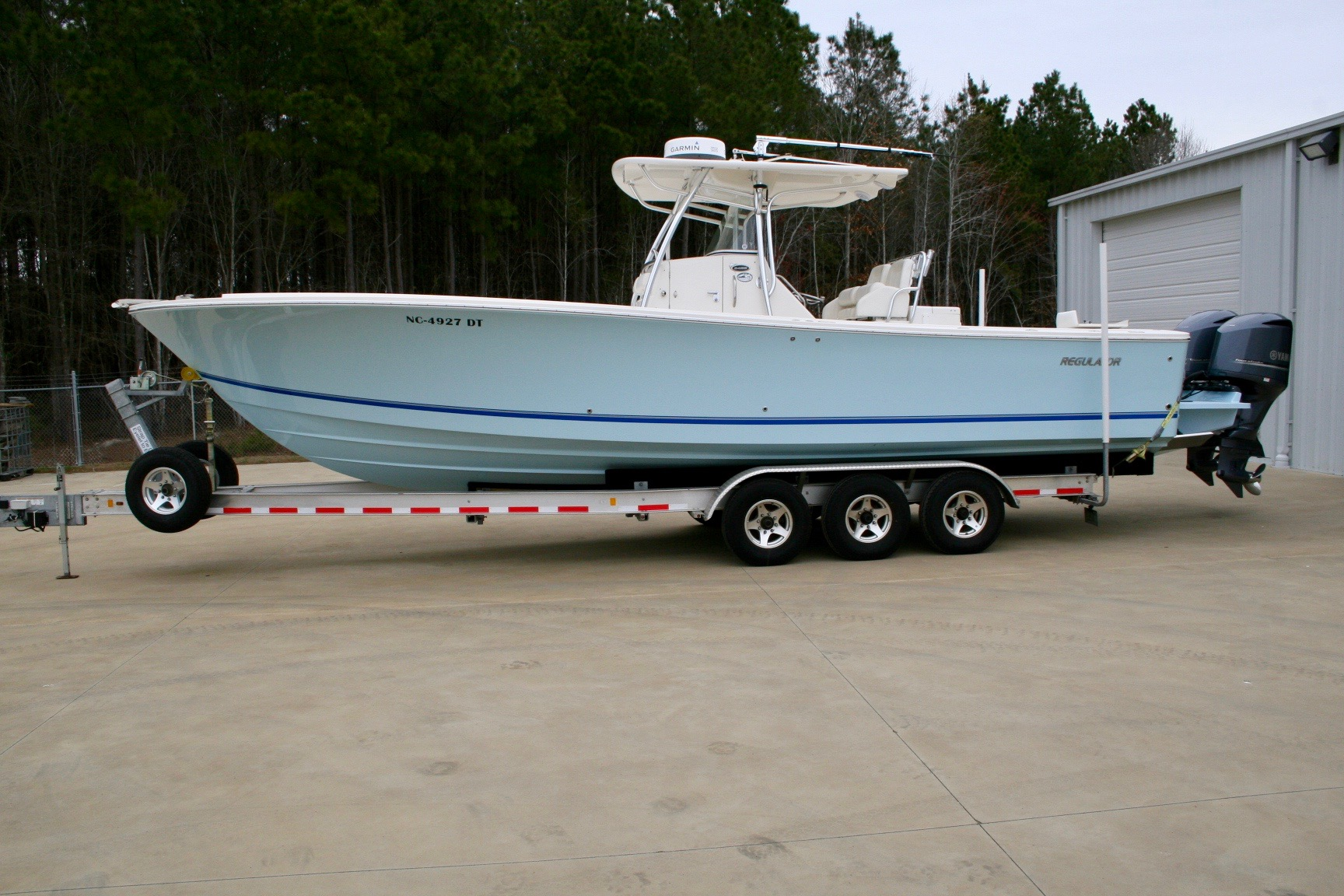 2010 Regulator 34SS with Seakeeper