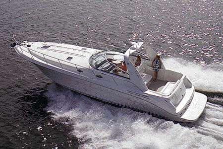 1998 Sea Ray 400 Sundancer Manufacturer Provided Image