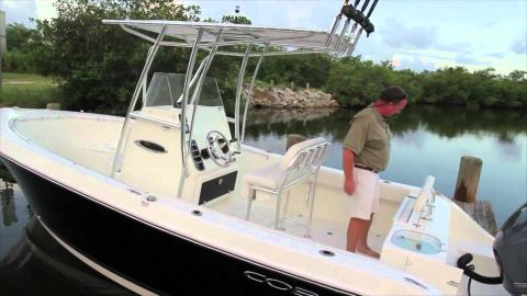 2016 Cobia Boats 237CC