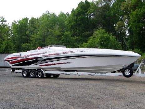 2004 Black Thunder 46SC Starboard on Trailer