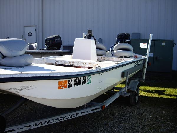 2005 carolina skiff j16 for Used boat motors for sale in sc