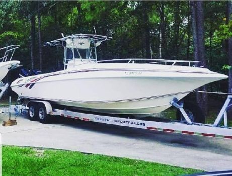 1996 FOUNTAIN 31 CC OPEN BOW