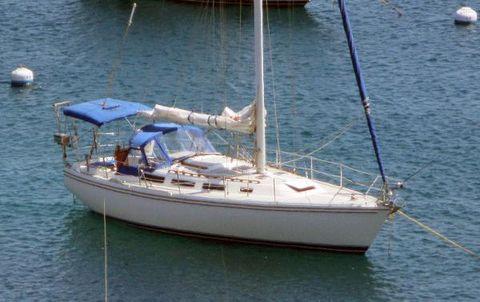 1986 Catalina 36 Cuban Sol