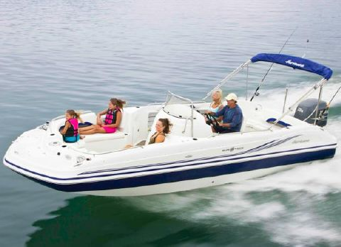 2016 Hurricane SunDeck Sport 231 OB Manufacturer Provided Image: Manufacturer Provided Image