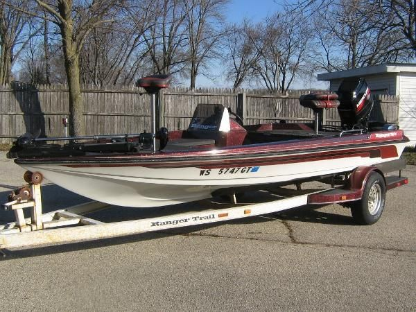 Ranger new and used boats for sale in wisconsin for Used fishing boats for sale in wisconsin