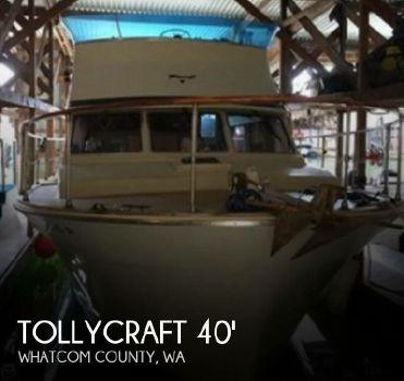 1977 Tollycraft 40 Tri Cabin
