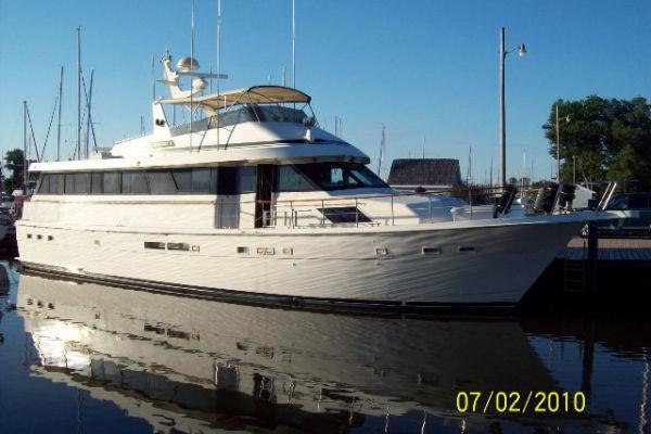 1989 Hatteras Motor Yacht