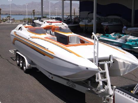 2001 Daves Custom Boats F 34