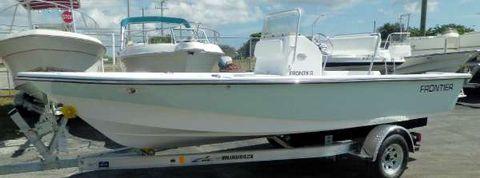 2016 Frontier Boats 180 CC w Evinrude E-TEC 115hp High-Output Outboard Moto