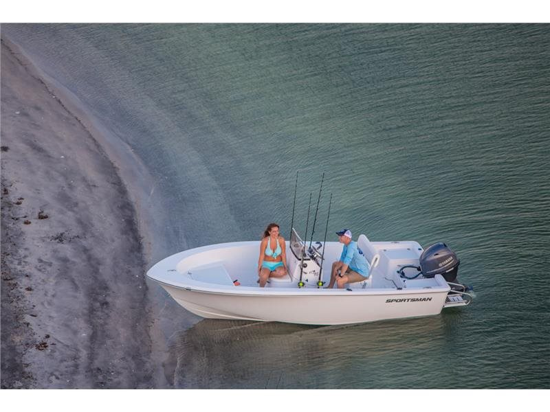 2017 Sportsman Boats 17 Island Reef