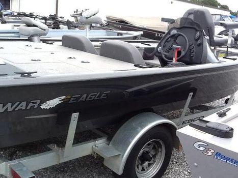 2008 War Eagle Side Console Bass Boat