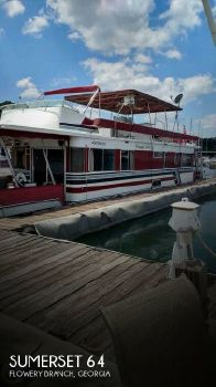 1990 Sumerset Houseboats 64 Sumerset 1990 Sumerset 64 for sale in Flowery Branch, GA