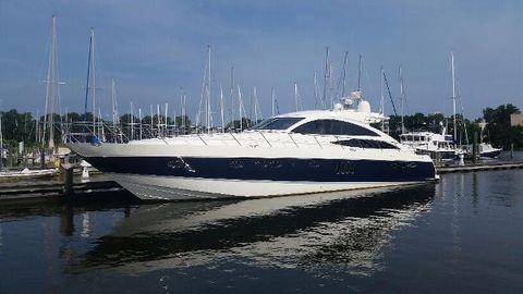 2006 Viking 70 V70 Port Profile