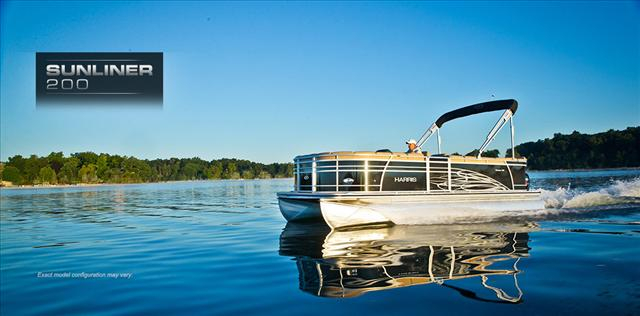 2015 Harris FloteBote Pontoon Boat 200 Sunliner