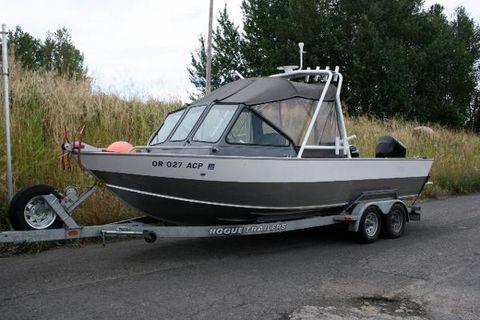 2006 Alumaweld Intruder Outboard 22
