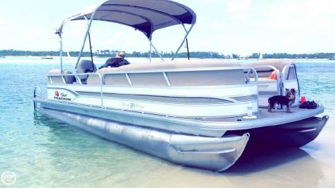 2015 Sun Tracker Party Barge 24 DLX Signature 2015 Sun Tracker Party Barge 24 DLX Signature for sale in Florence, MS