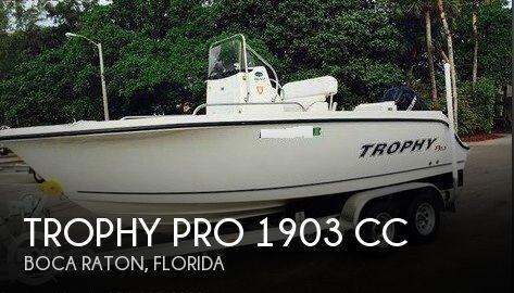 2012 Trophy Pro 1903 CC 2012 Trophy Pro 1903 CC for sale in Boca Raton, FL