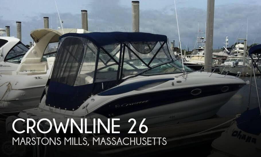 2009 Crownline 26 26 Foot 2009 Crownline Motor Boat In
