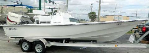 2016 Frontier Boats Frontier Boats 2104 Meridian CC Evinrude E-TEC w 7 Yr.