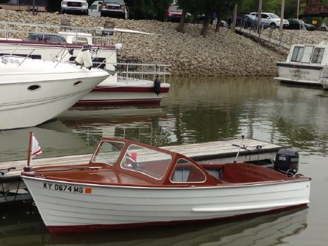 1963 Old Town E .M White Runabout